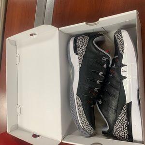 Nike Air Jordan Zoom Vapor AJ3 RF Black Cement